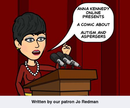 AnnaKennedyOnline's Bitstrips Comics for  Autism/Asperger's syndrome