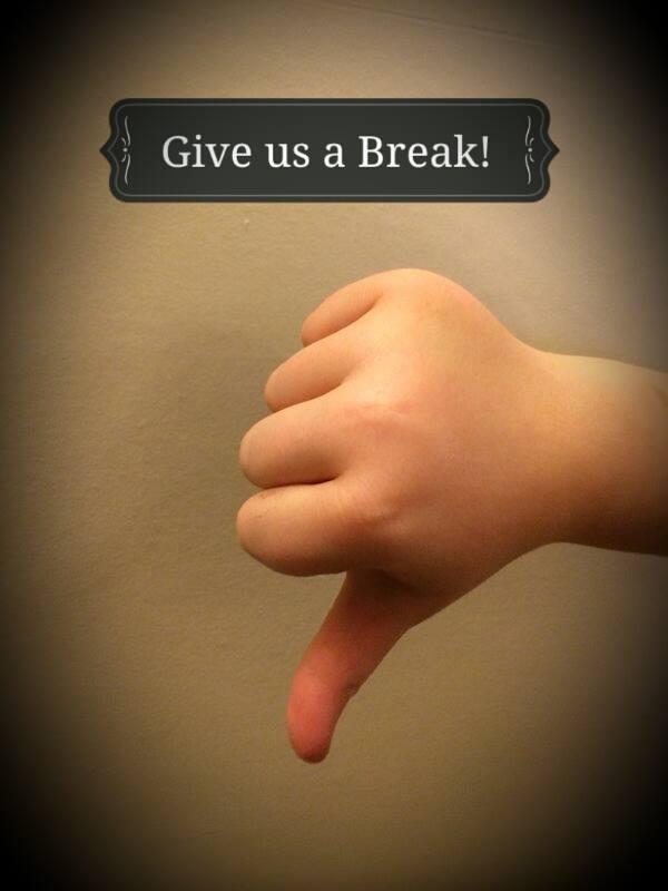 Give us a Break! 17th – 21st November Anti Bullying Week.