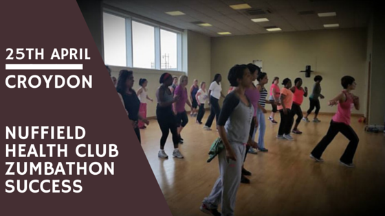 Anna Kennedy online team in collaboration with Nuffield Health Club in Croydon