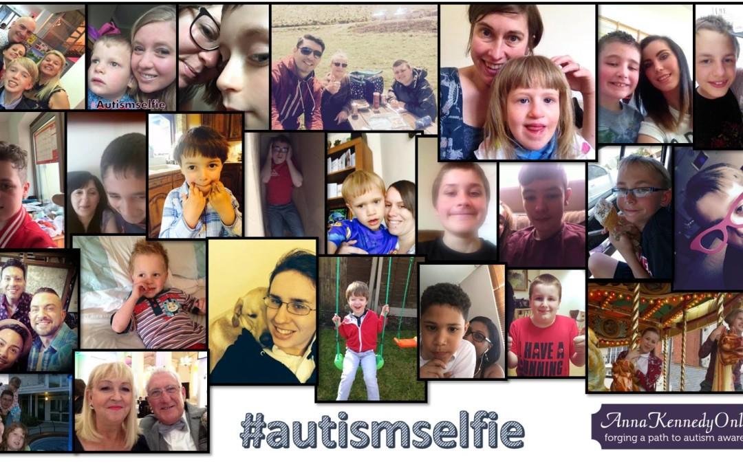 World #autismselfie weekend.