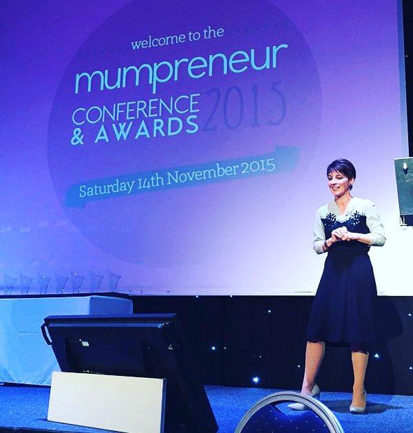 Anna Kennedy inspires 250 Mumpreneurs in Warwickshire!