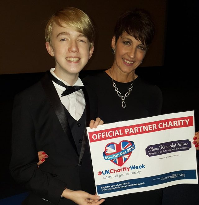 UKCharityWeek ambassador talks about WorldAutismAwarenessWeek