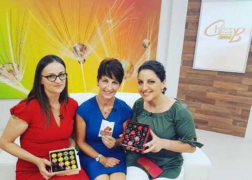 Alessandra Bester on Sky TVs Chrissy B Show