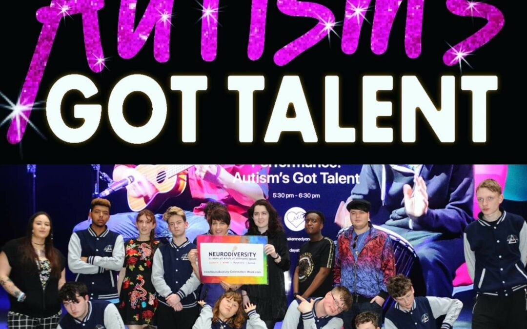 Autism's got Talent perform at the flagship Apple store