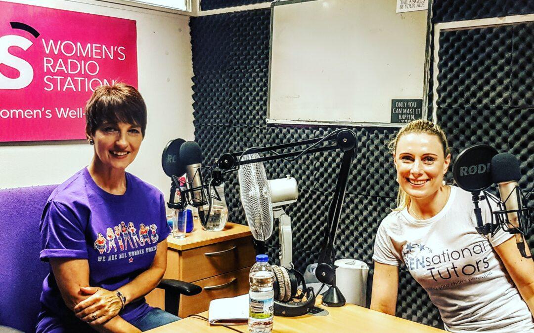 SeNsational Tutors Joanna Gibbs on Women's Radio