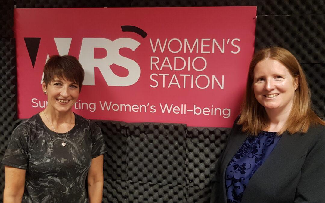 Lisa Cromar – Anna's guest on Woman's Radio