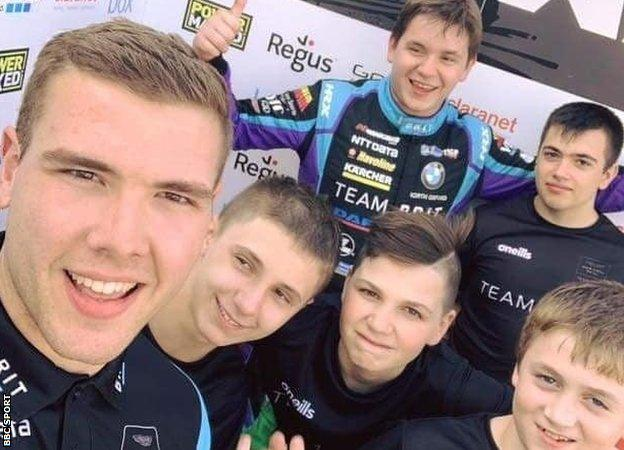'Own your own story' – how racing go-karts changed my life