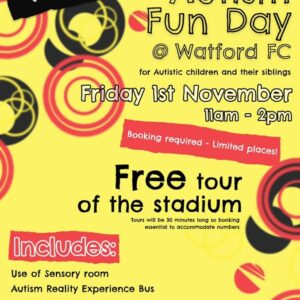 Charity fun day in collaboration with Watford Football Club