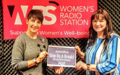 Anna's guest on Women's Radio – Bernadette O'Donnell
