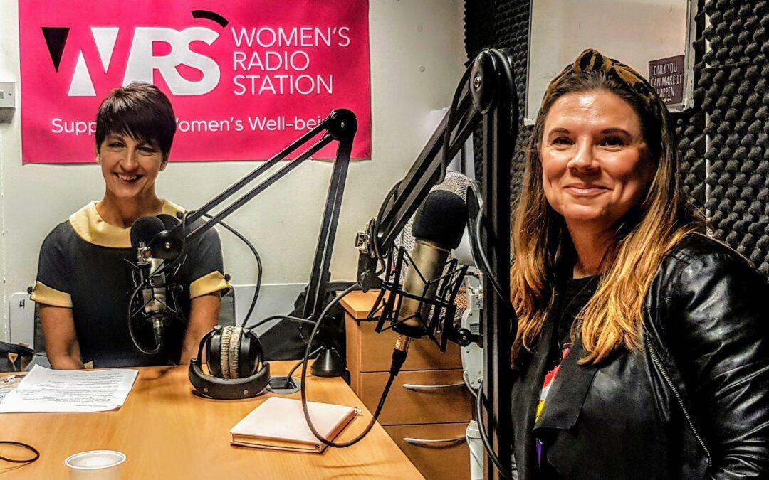 Jane Franklyn – Anna's guest on Women's Radio