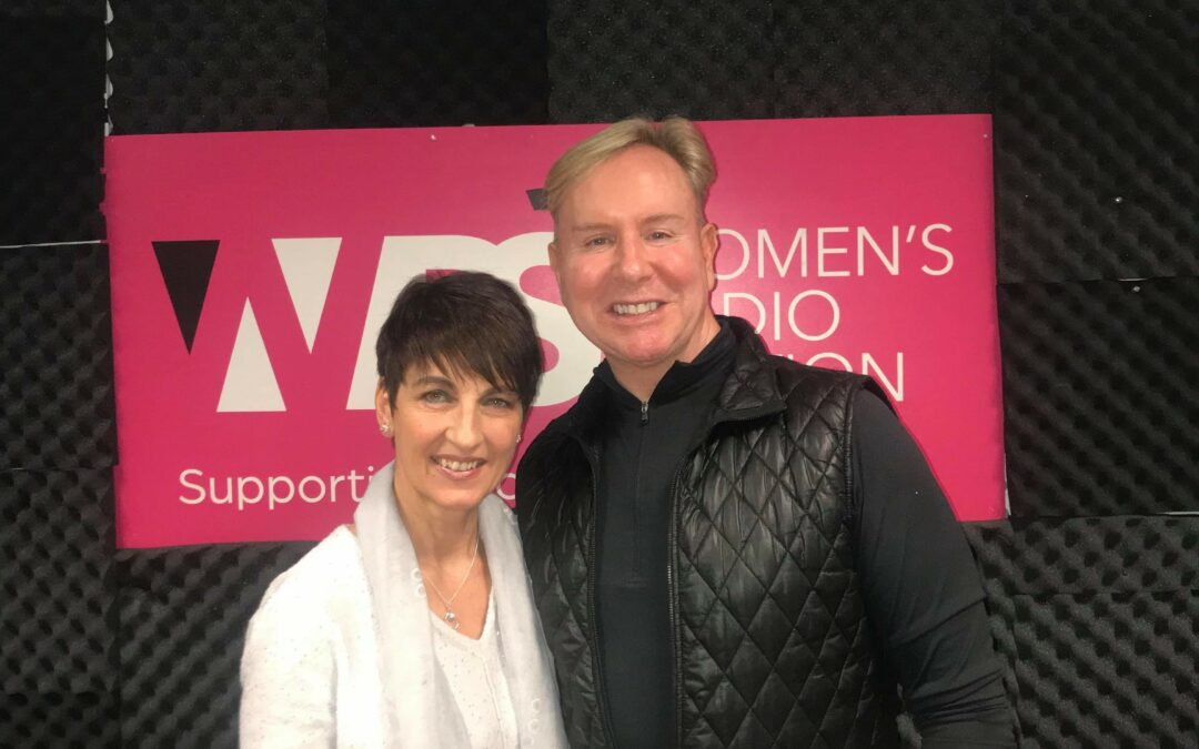 Anna's guest on Women's Radio – Steven Smith