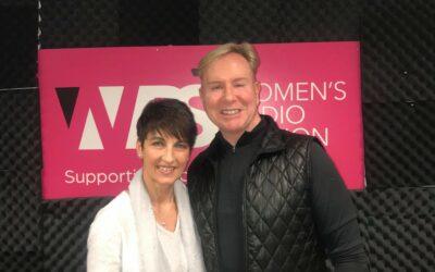 Anna's guest on Women's Radio – Steven Smith