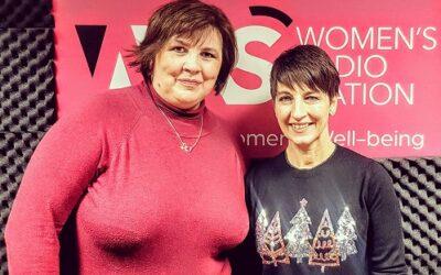 Anna's guest on Women's Radio – Rebecca Taylor