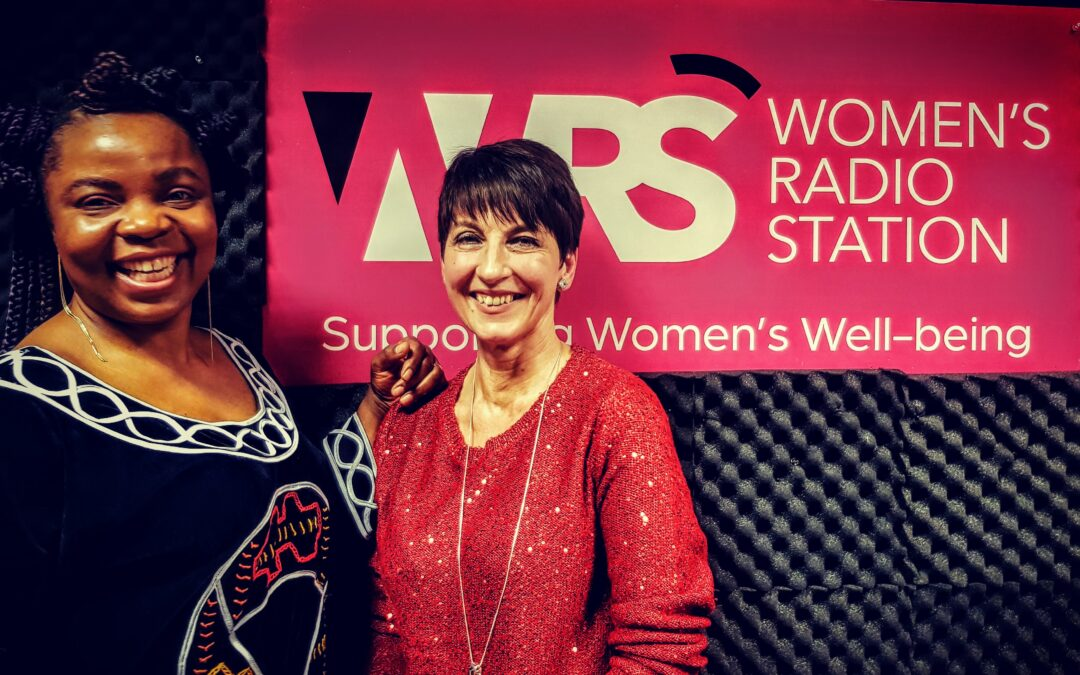 Anna's guest on Women's Radio – Claris Angafor Interview