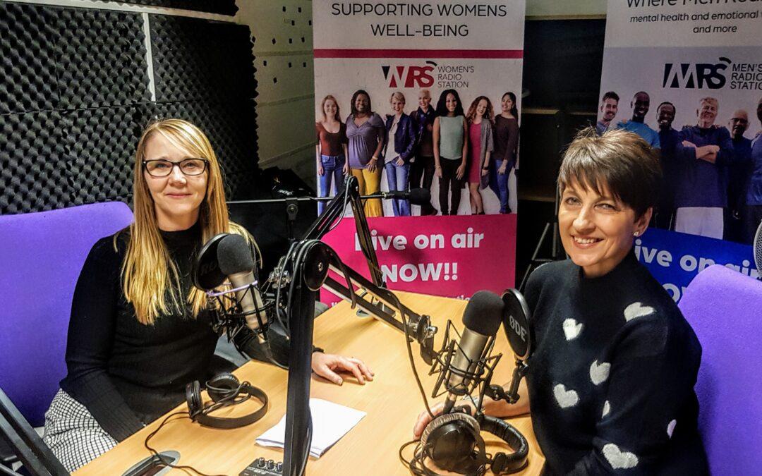 Emma Kaye Play Therapist talks to Anna Kennedy OBE Womens Radio Station