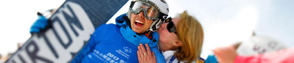 Kristall Spaces sponsort de Special Olympics