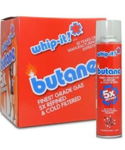 Whip It Butane 300ml 12 Tins