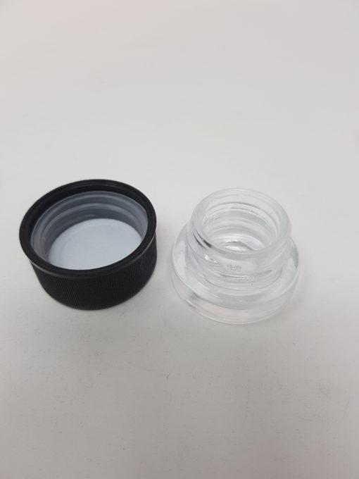 3ml Shoulderless Glass Jar