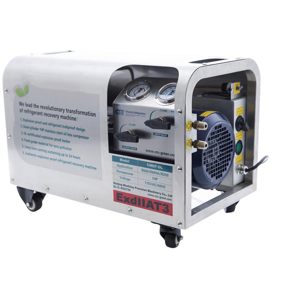 CMEP-OL Oil-Less Explosion Proof Recovery Pump