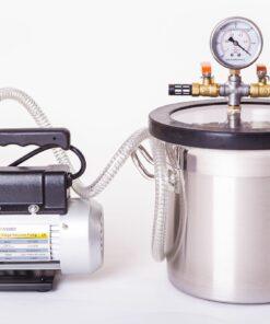 5L Vacuum Extraction Chamber Vacuum Pump Kit