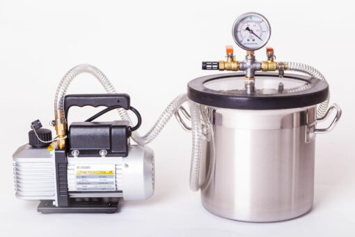 15L Vacuum Degassing Chamber Pump Kit