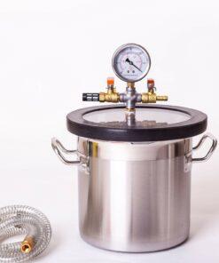 15L Vacuum Degassing Chamber Stainless Steel
