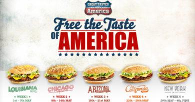 McDonald's Great Tastes of America 2013