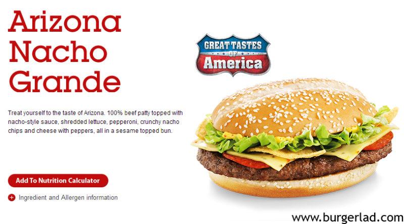McDonald's Arizona Nacho Grande