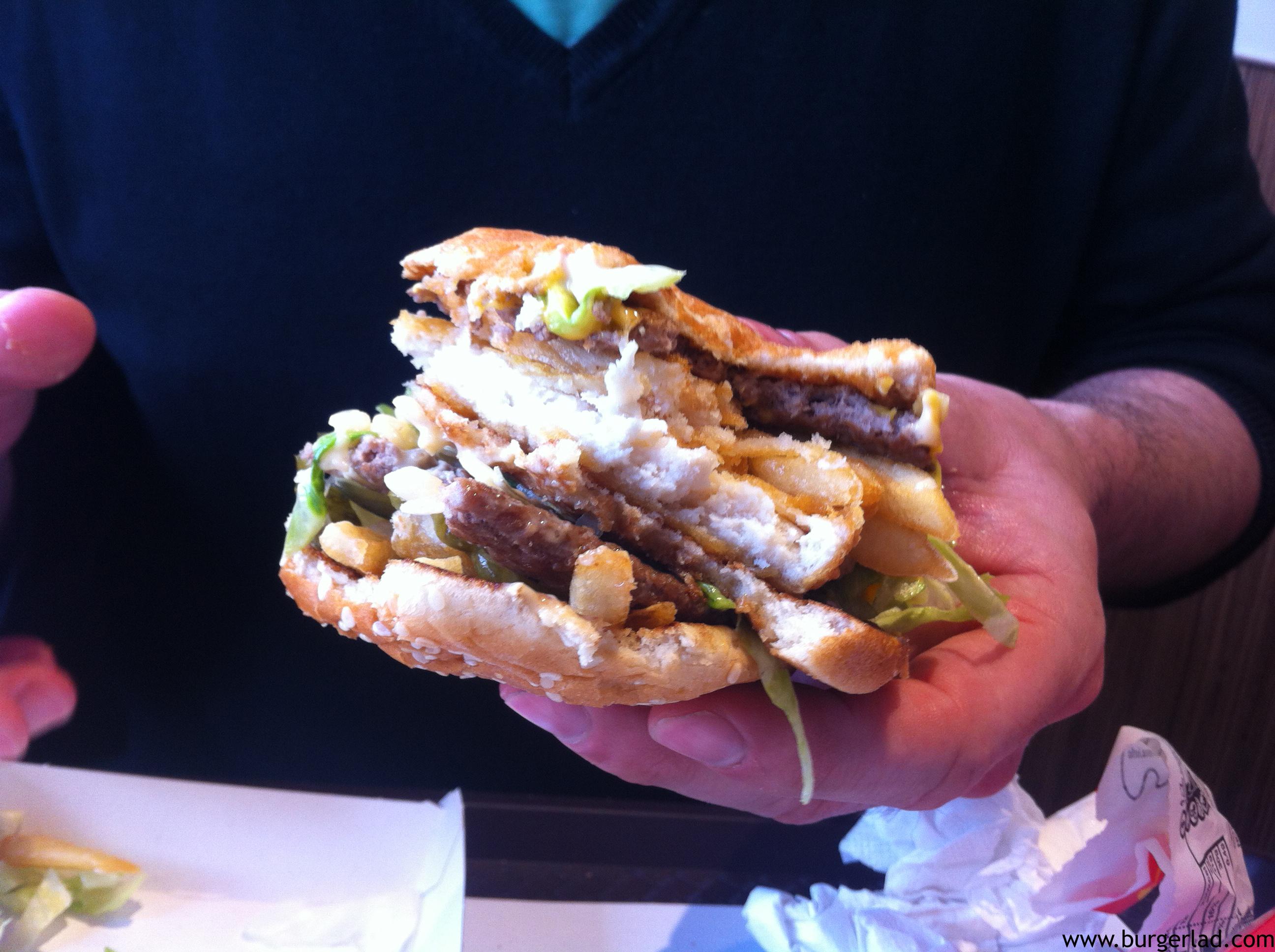 Marty McFry Burger