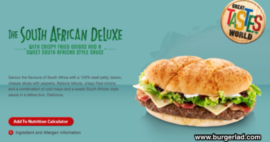 McDonald's South African Deluxe