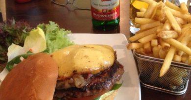 Hache Burgers Steak Bavarian