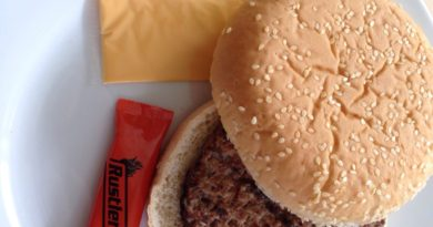 Rustlers Flame Grilled Quarter Pounder