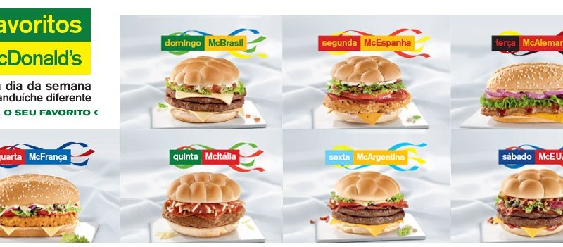 McDonald's World Cup Burgers 2014