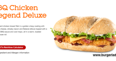 McDonald's BBQ Chicken Legend Deluxe