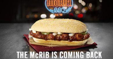 McDonald's McRib UK
