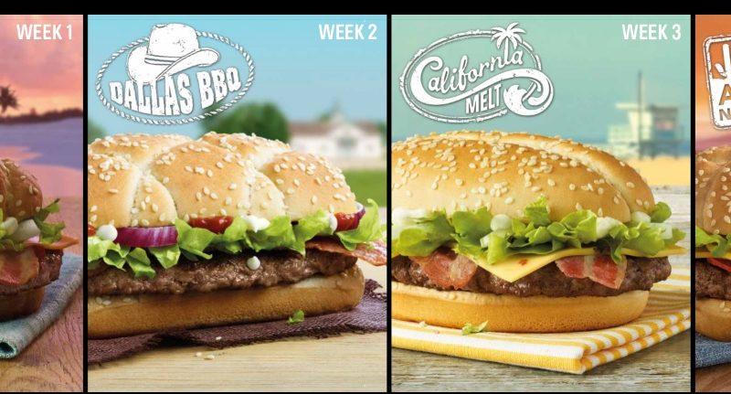 McDonald's Great Tastes of America 2015