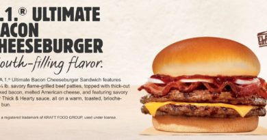 Burger King A1 Ultimate Bacon Cheeseburger