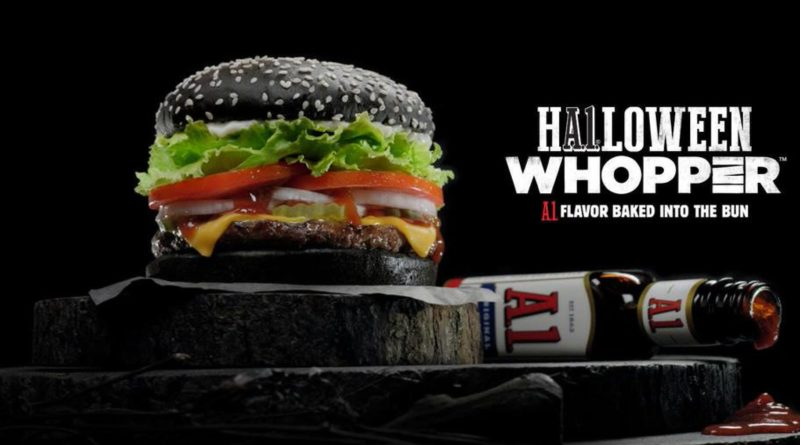 Burger King Halloween Whopper