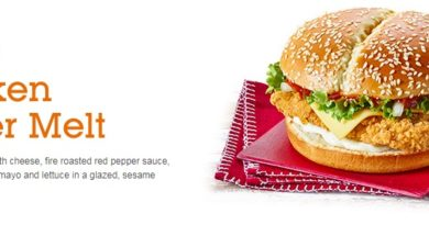 McDonald's Spicy Chicken Winter Melt