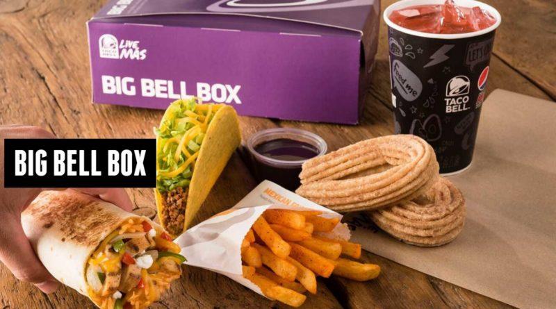 Taco Bell UK Big Bell Box