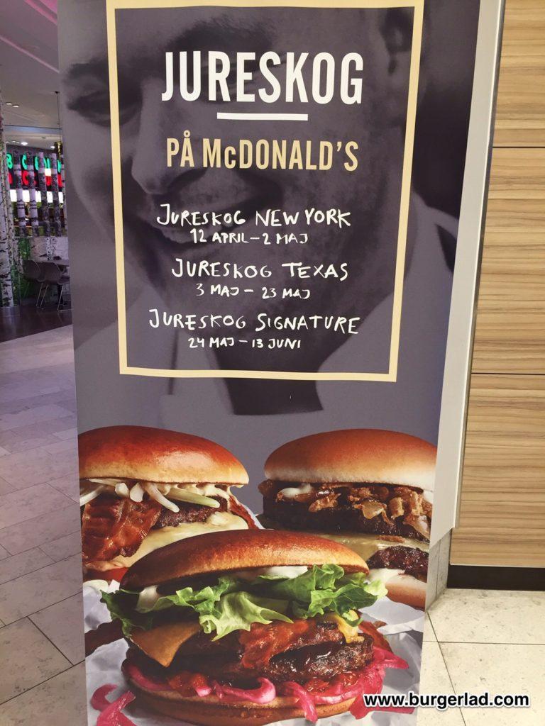 McDonald's Jureskog New York Burger