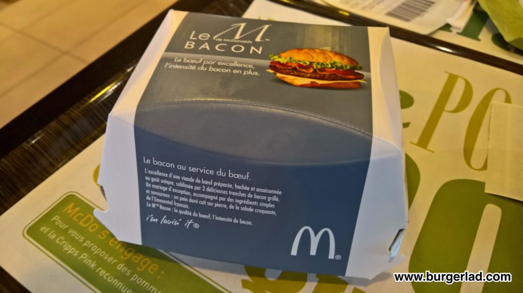 McDonald's Le M Bacon