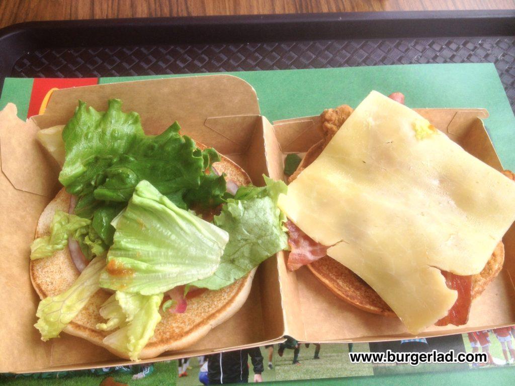 McDonald's Chicken BBQ Smokehouse