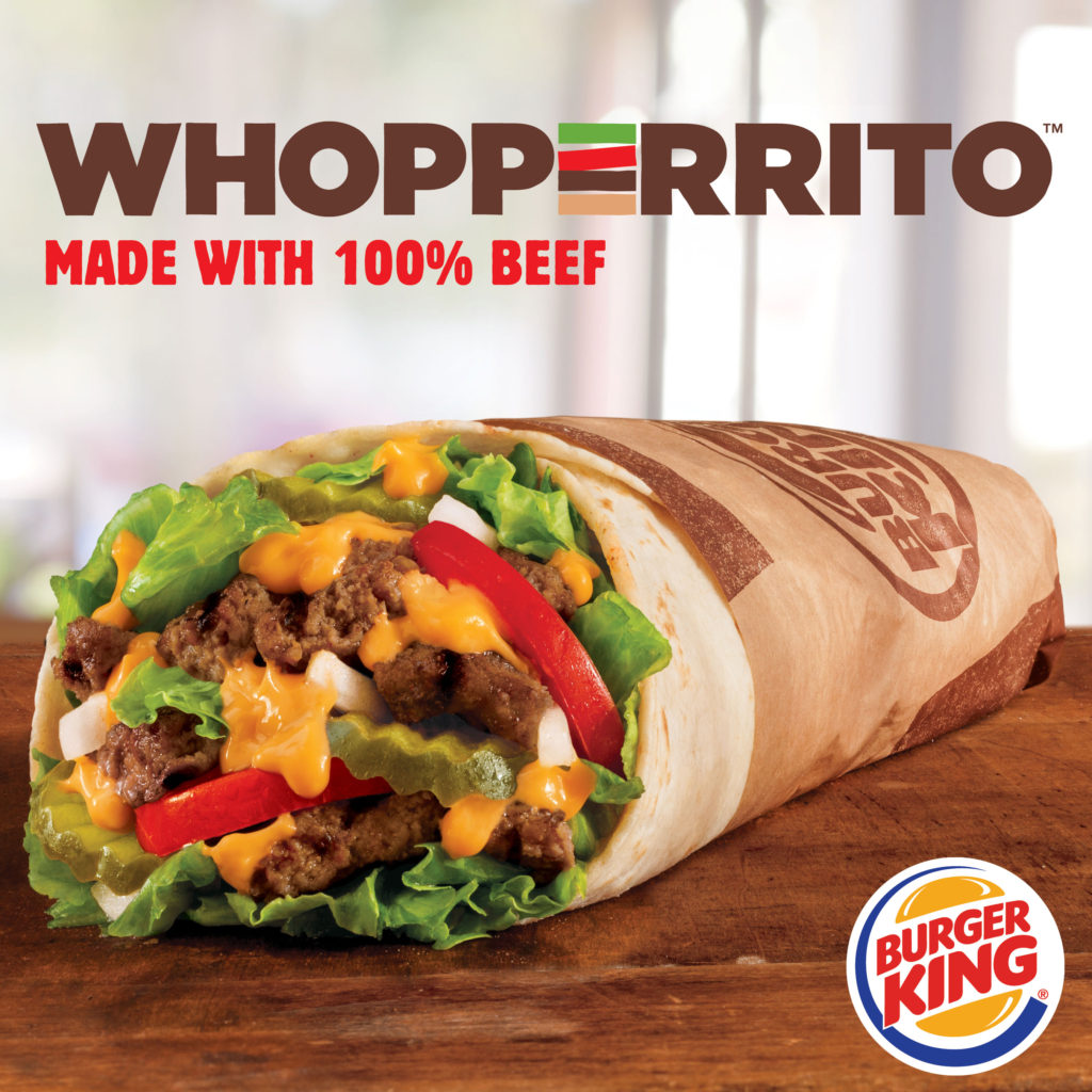 Burger King Whopperrito