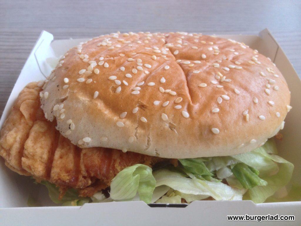 KFC Hottest Zinger