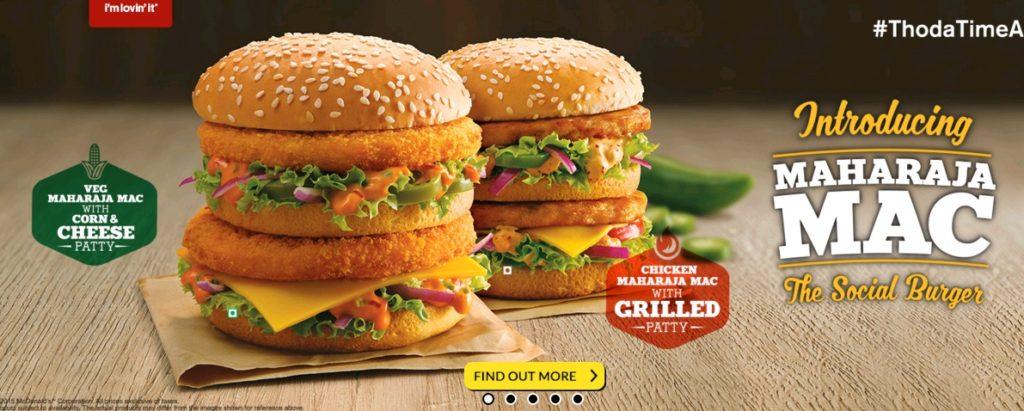 McDonald's Maharaja Mac