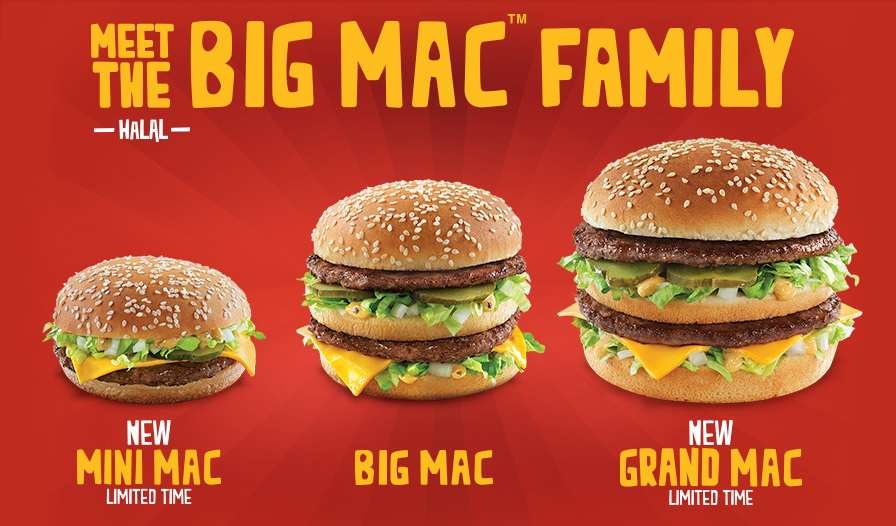 price of a big mac meal uk 2013