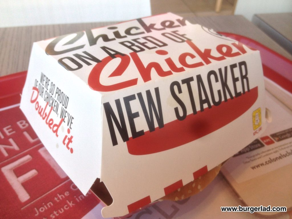 KFC Original Recipe Stacker