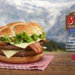 McDonald's Swiss Stack