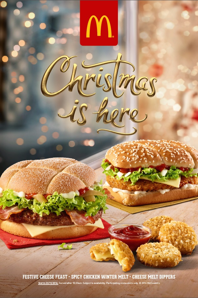 McDonald's Festive Cheese Feast